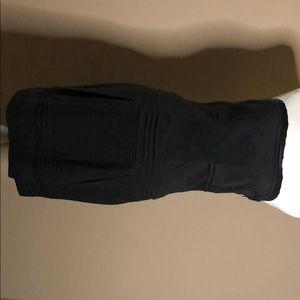 Diane vonFurstenberg black dress